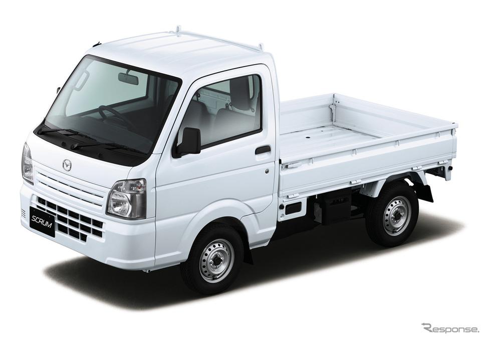 マツダ スクラムトラック 「KCエアコン・パワステ」(2WD・3AT車)