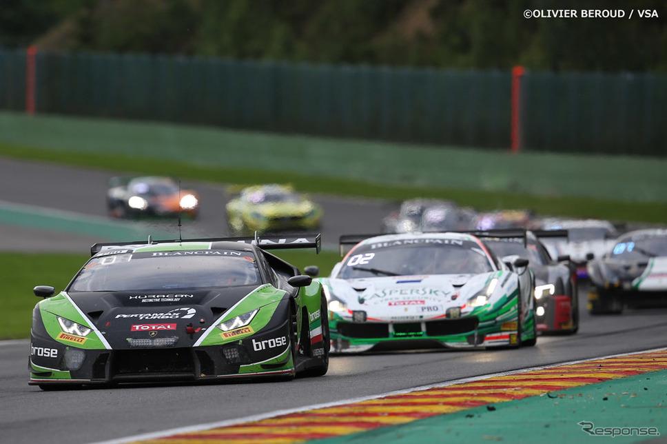 世界3大耐久レースの一つ スパ・フランコルシャン24時間レース