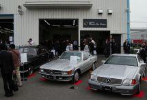 ベンツオーナーはクルマを長く大事に乗る…ヤナセクラシックカーセンター
