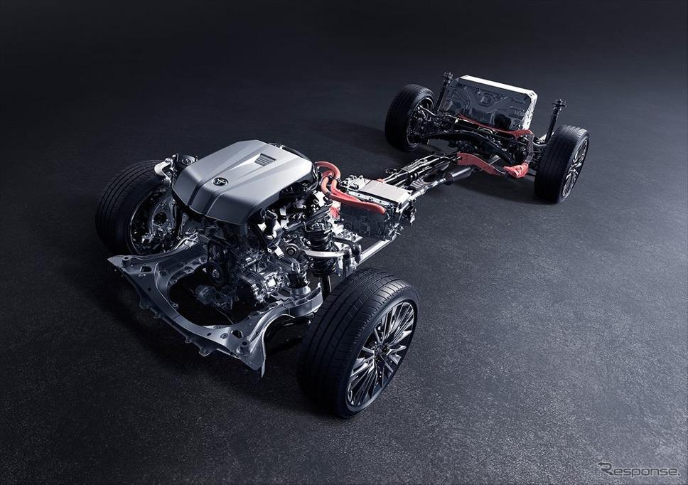 3.5L 8GR-FXSエンジン+モーター