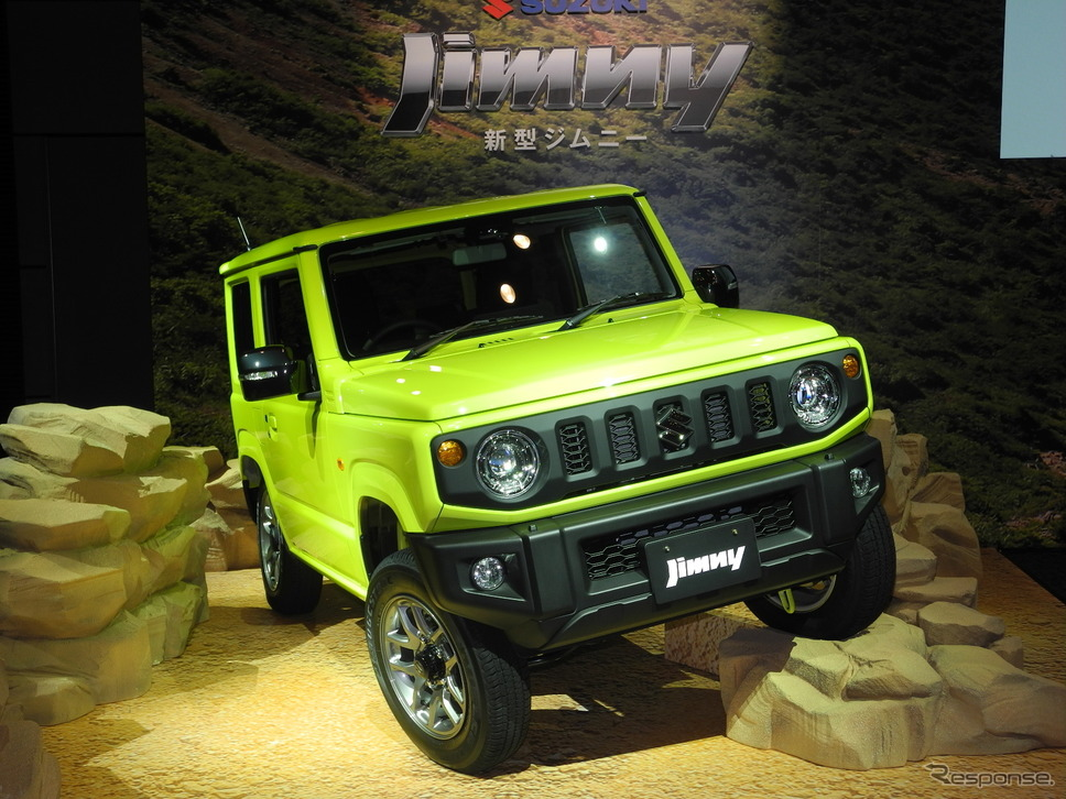 軽四輪駆動車の新型『ジムニー』《撮影 山田清志》