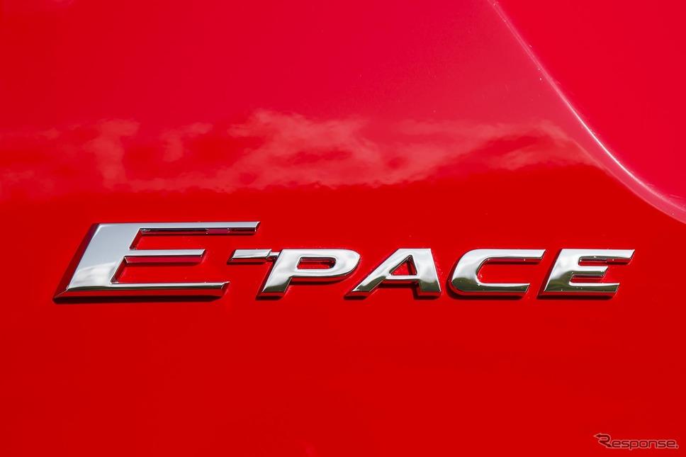 ジャガー E-PACE(写真は海外仕様)