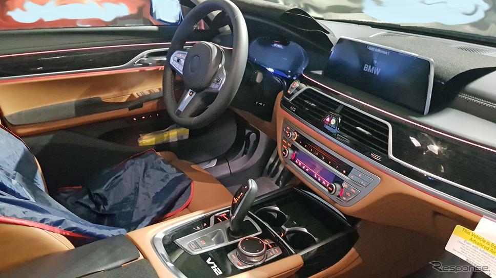 BMW 7シリーズ 改良新型スクープ写真《APOLLO NEWS SERVICE》