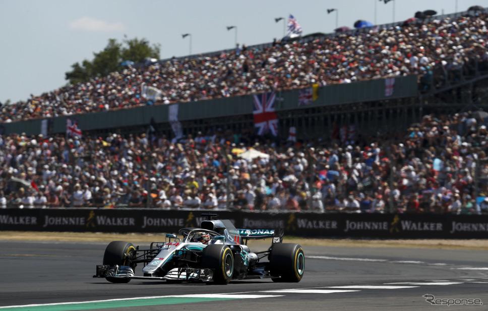 ハミルトン(メルセデス、F1イギリスGP)