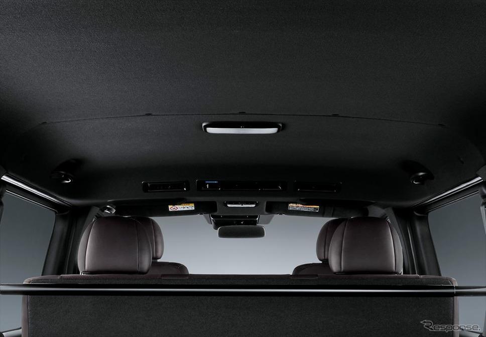 トヨタ ハイエース スーパーGL 50THアニバーサリー リミテッド ルーフ&ピラー&セパレーター(ブラック)