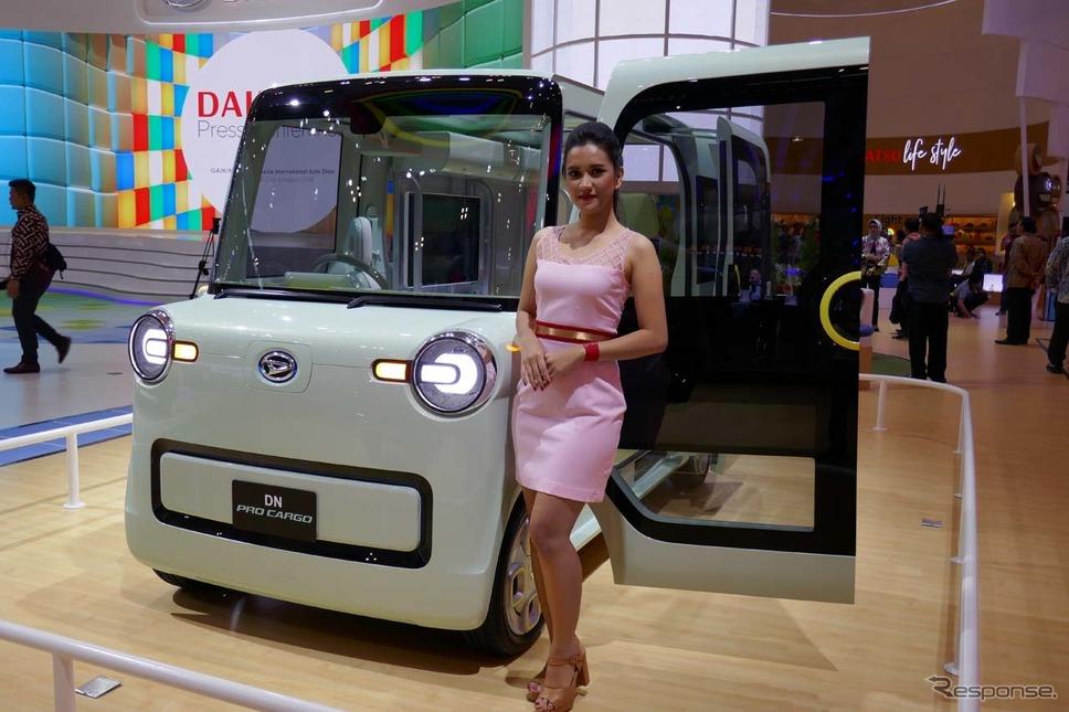 軽商用EVコンセプトカー、DN PRO CARGO