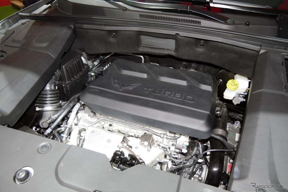 パワーユニットは1.5リッター直4ターボエンジン