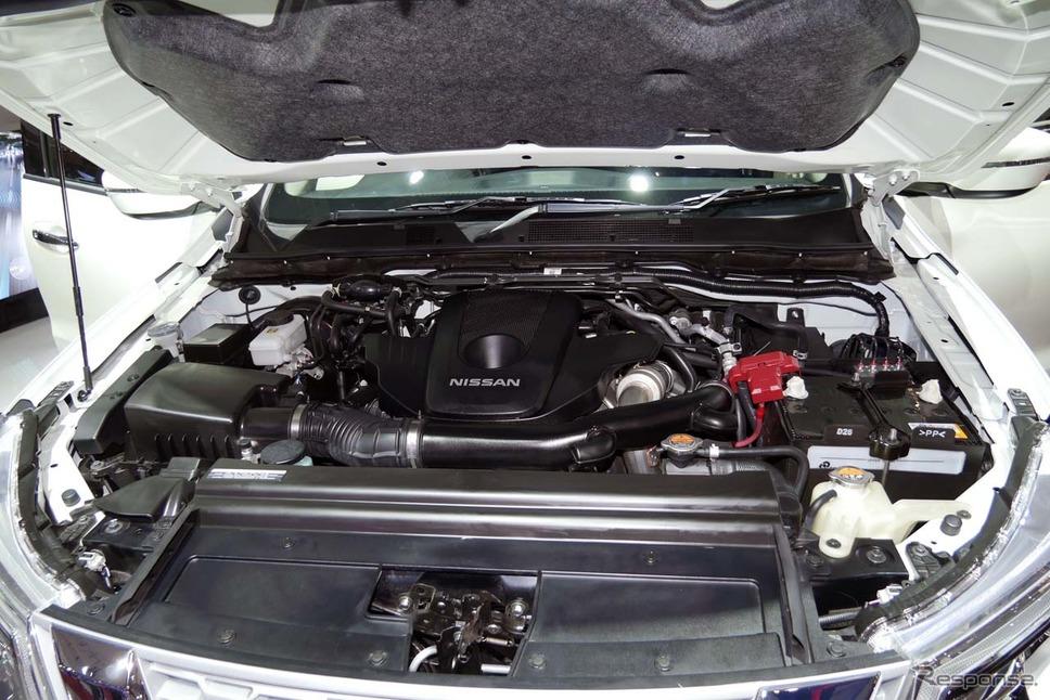 エンジンは2.5Lディーゼルターボ《撮影 会田肇》