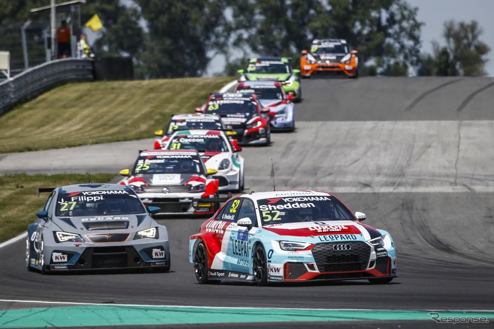 今季WTCRのレースシーン。《写真提供 Audi》