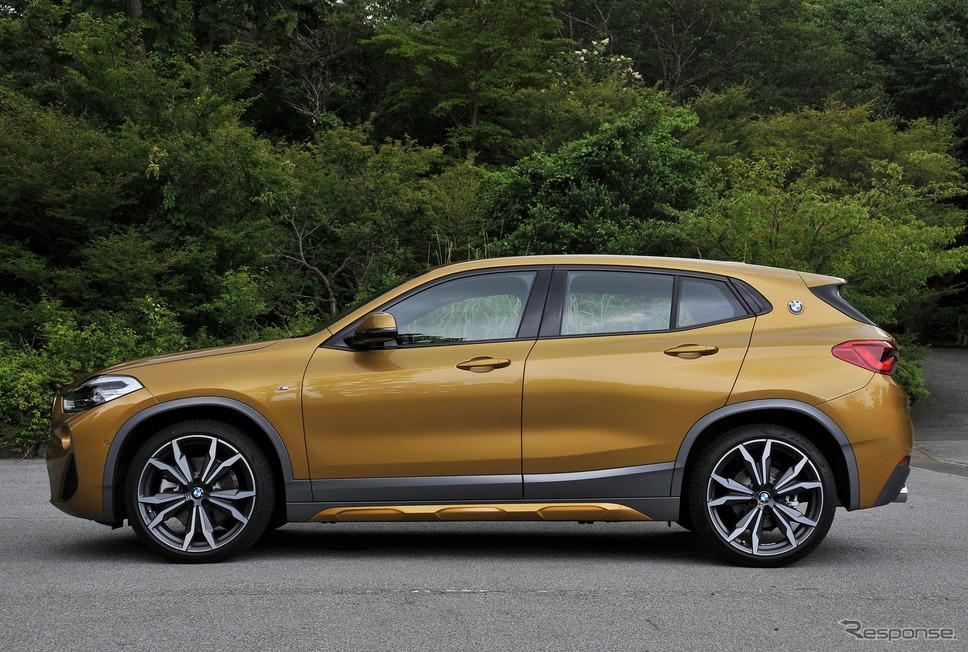 【BMW X2 試乗】ライバル多き戦場、決め手はシャープな走り…諸星陽一《撮影 諸星陽一》