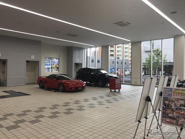 大原学園大分校自動車整備実習棟