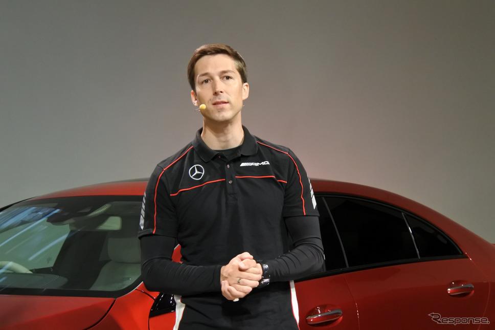 メルセデス・ベンツ日本 AMGブランドマネージャー レナート・ニグマン氏《撮影 小松哲也》