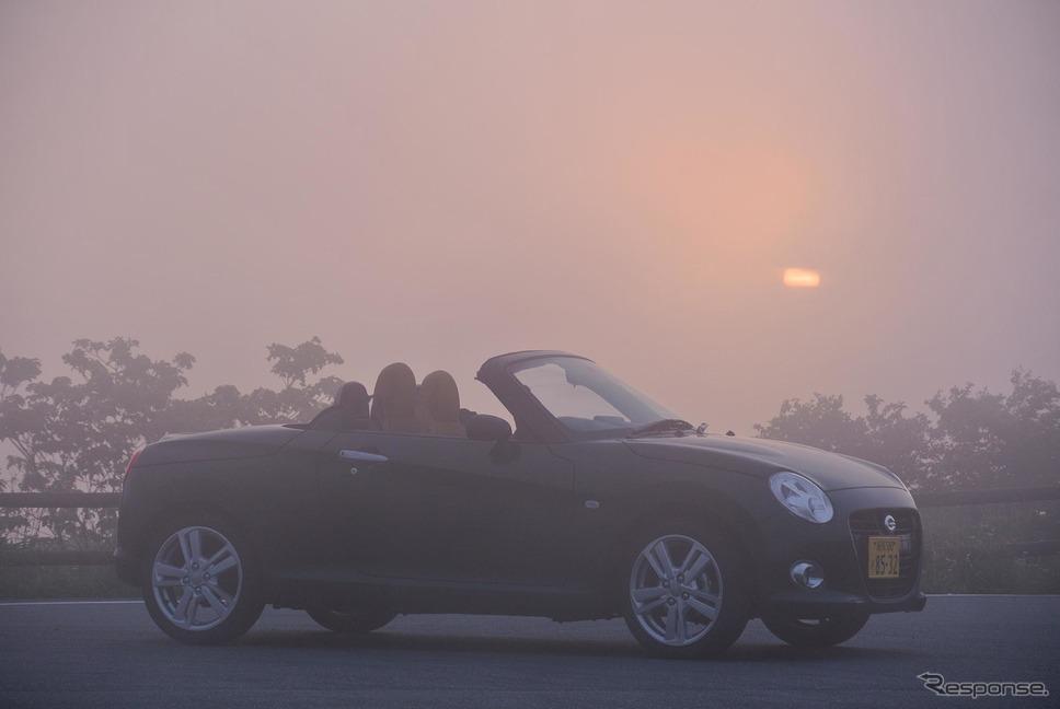 霧の伊豆にて。《撮影 井元康一郎》