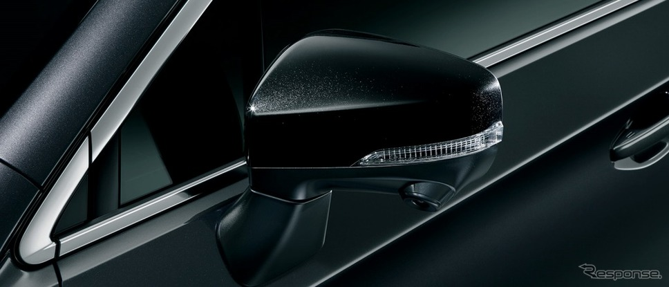 スバル レガシィ アウトバック X-BREAK ブラックカラードドアミラー