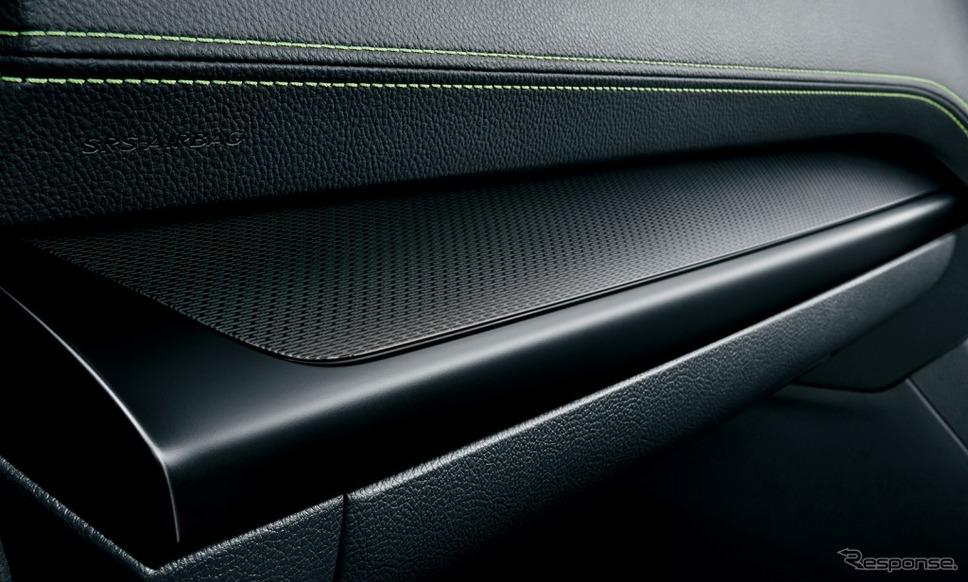 スバル レガシィ アウトバック X-BREAK メタルメッシュ+ブラック塗装加飾パネル