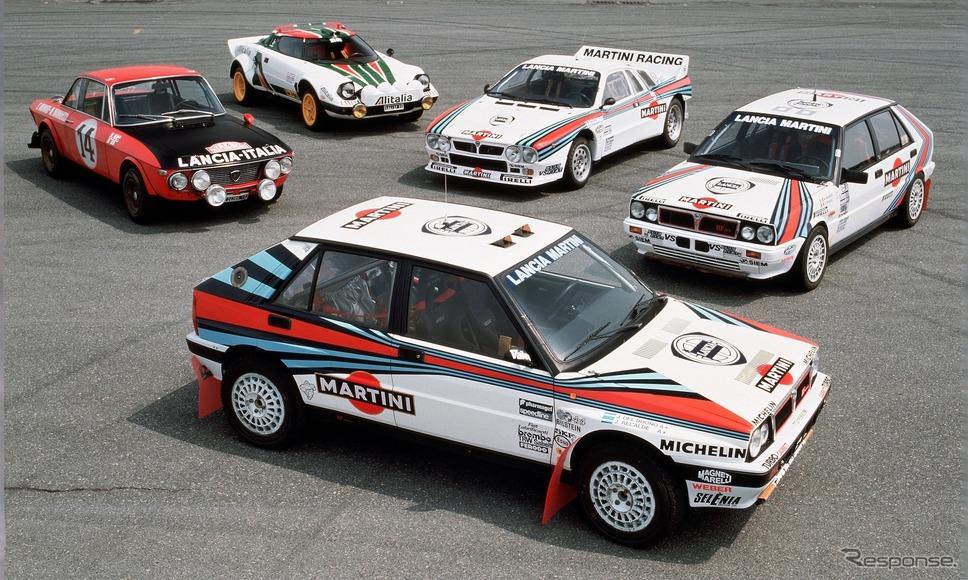 ランチアの歴代WRCマシン