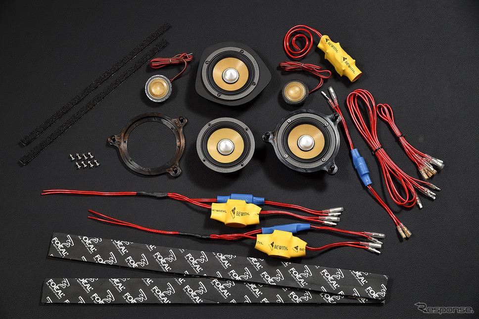 圧倒的な音質改善。メルセデスベンツCクラス用トレードインスピーカーの実力《PHOTO 雪岡直樹》