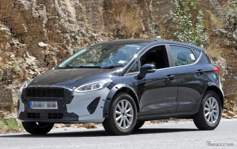 フォード フィエスタ をベース車とした小型SUVプロトタイプ《APOLLO NEWS SERVICE》