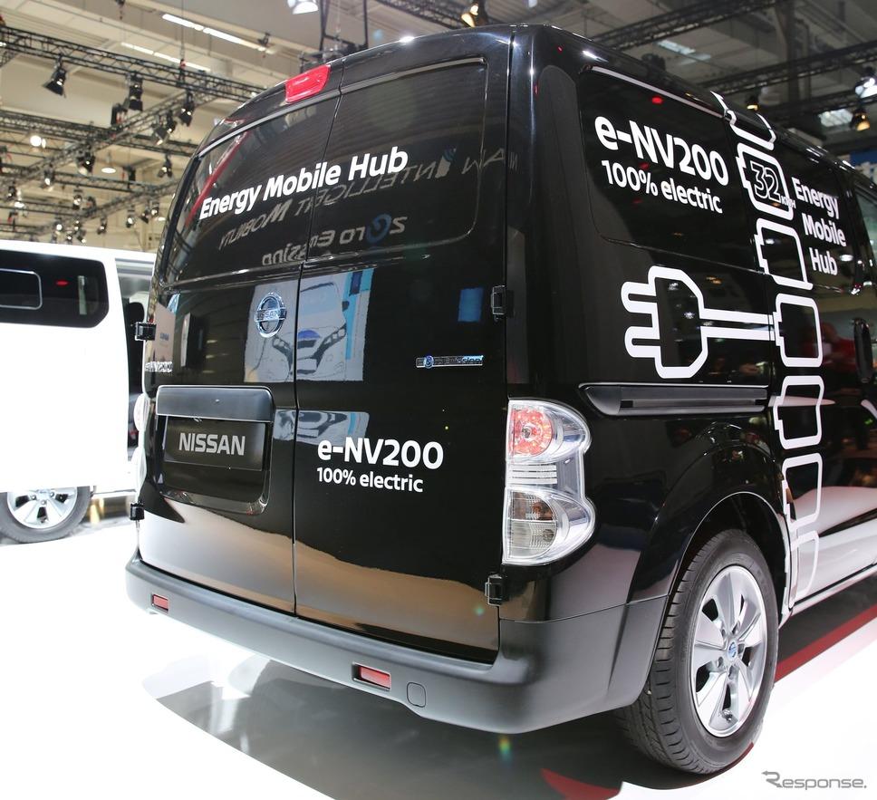 日産 e-NV200 改良新型(ハノーバーモーターショー2018)