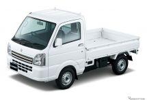 スズキ、軽トラックの キャリイ 6台を寄贈 平成30年7月豪雨被災地などのボランティア活動を支援