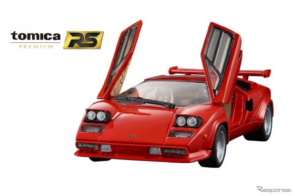 1/43スケールのダイキャスト製ミニカー「トミカプレミアムRS ランボルギーニ カウンタック LP500S」