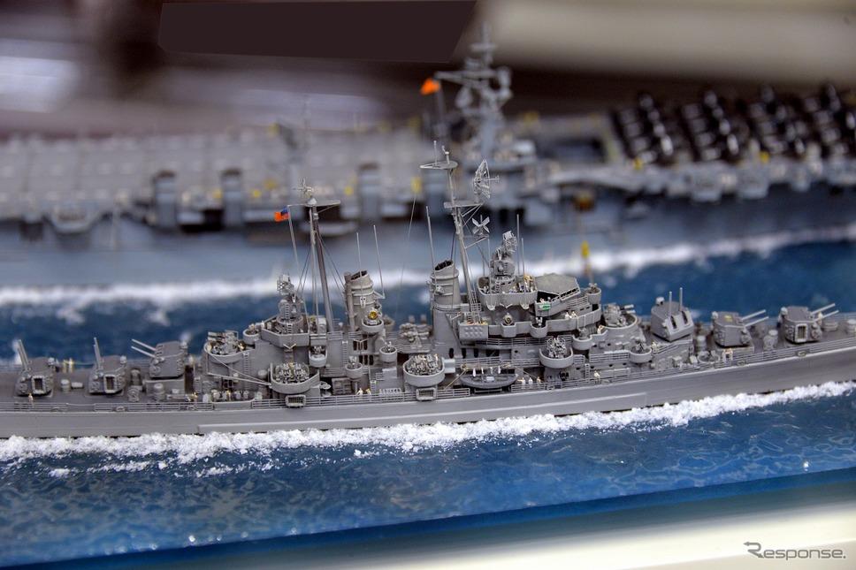 矢萩登の艦船模型展示会《撮影 嶽宮三郎》