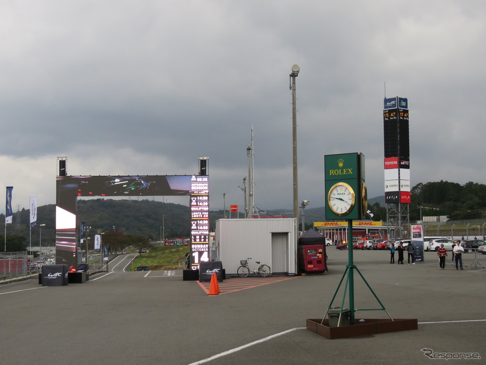 WEC富士6時間:10月11日の風景《撮影 遠藤俊幸》