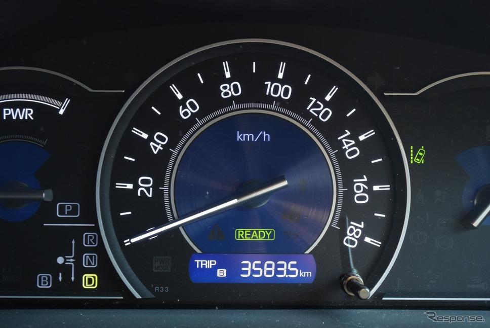 総走行距離3583.5km。ユーザーフレンドリーなミニバンだという印象は最後まで持続した。《撮影 井元康一郎》