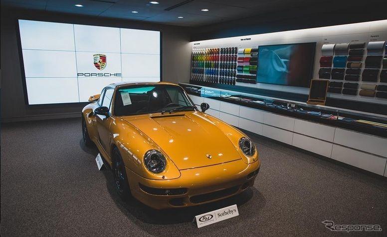 20年ぶりに1台のみ生産されたポルシェ 911 ターボ(993型)(画像:RMサザビーズ)