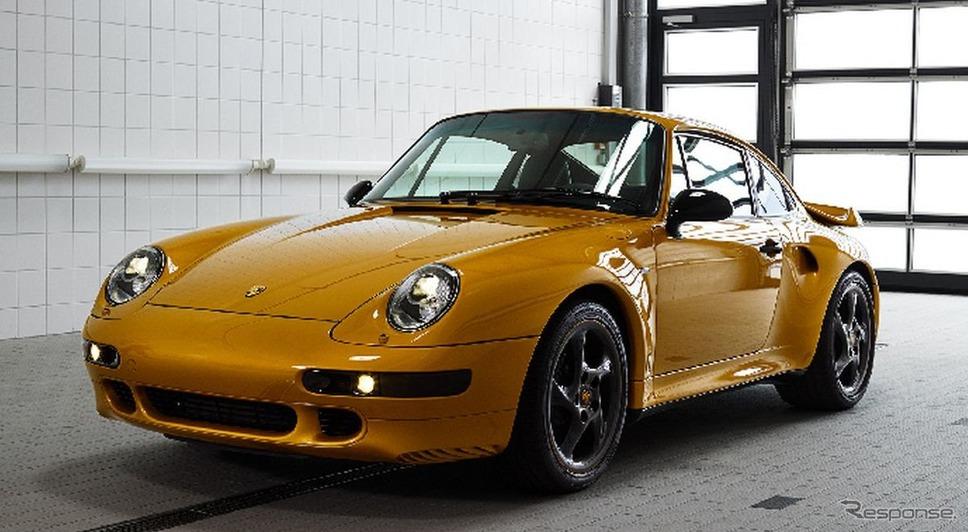 20年ぶりに1台のみ生産されたポルシェ 911 ターボ(993型)