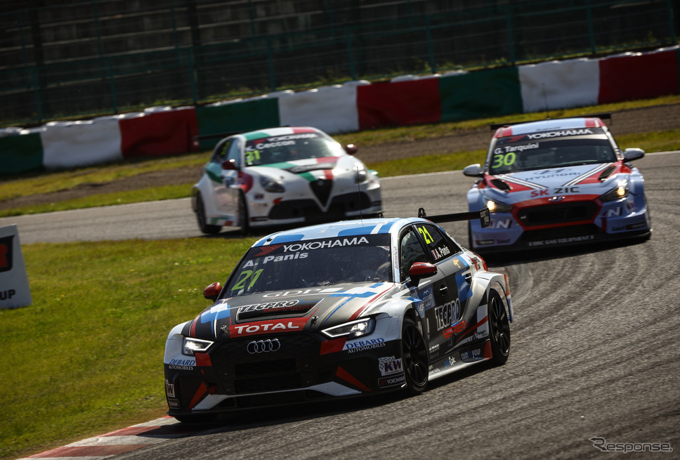Audi SportがWTCRに参戦する理由をプロジェクトマネージャーに訊いた。写真はAudi RS3 LMS(#21 A.パニス)《撮影 益田和久》