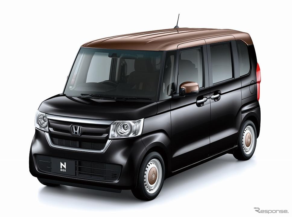 ホンダ N-BOX G・L ホンダセンシング カッパーブラウンスタイル(クリスタルブラック・パール&カッパー)