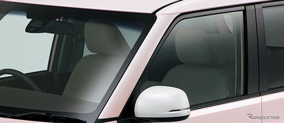 ホンダ N-ONE スタンダード L ホワイトクラッシースタイル カラードフロントピラー ホワイトパール・ドアミラー