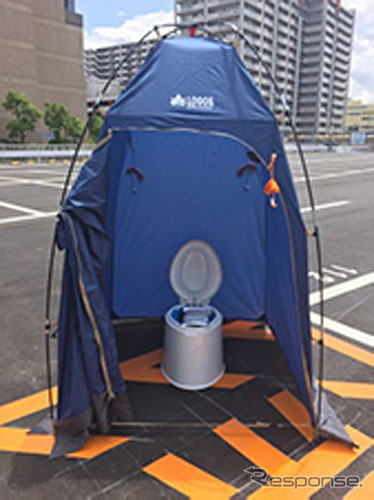 災害用簡易トイレ