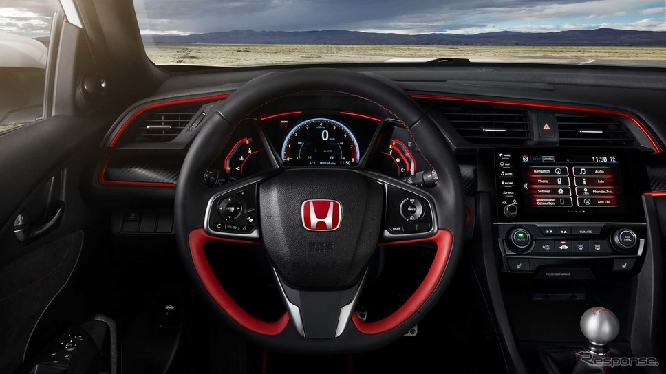 ホンダ・シビック・タイプR の2019年モデル