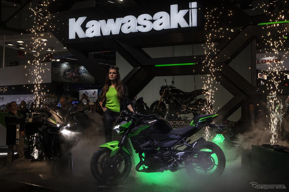 カワサキZ400(EICMA 2018) (c) Getty Images