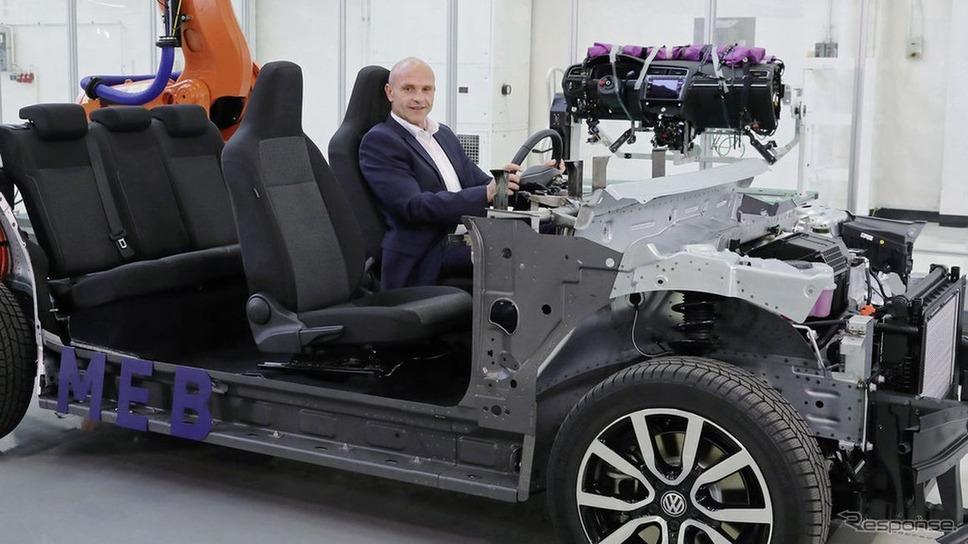 フォルクスワーゲンの次世代電動車向け車台「MEB」