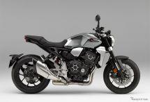 ホンダ CB1000R、新色ソードシルバーメタリックを追加 ETC車載器は2.0へバージョンアップ