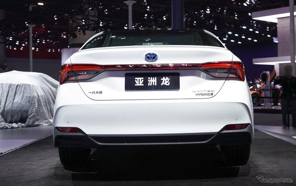新型トヨタ・アバロン 中国仕様(広州モーターショー2018)