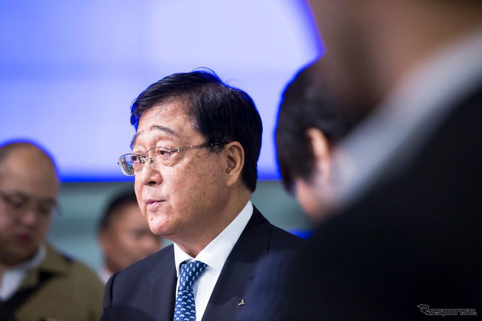 益子CEO (c) Getty Images