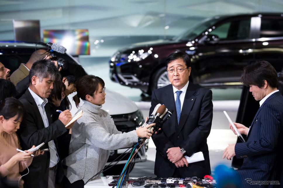 三菱自動車益子CEO (c) Getty Images
