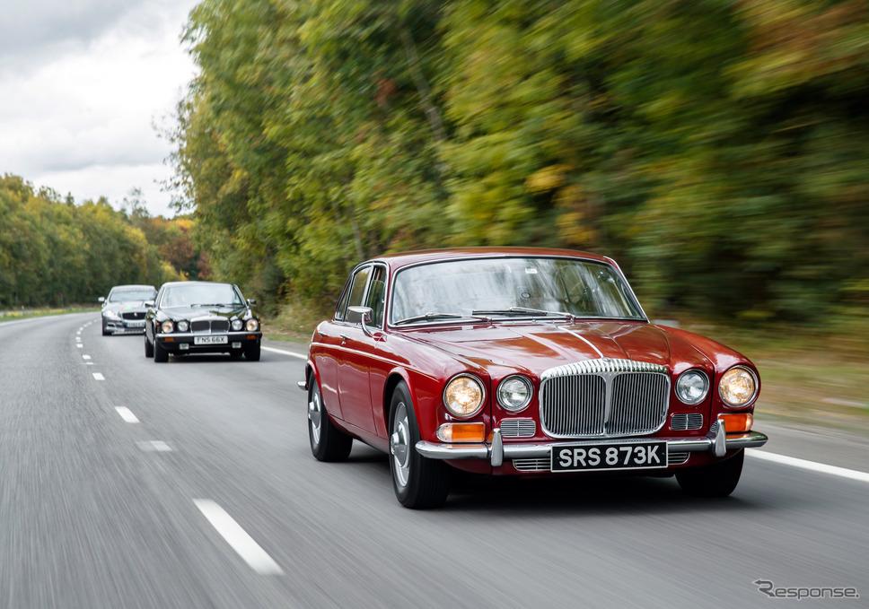 Jaguar XJ Historic Convoy to Paris