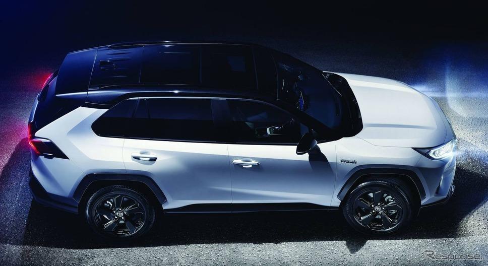 トヨタ RAV4 ハイブリッド 新型(欧州仕様)