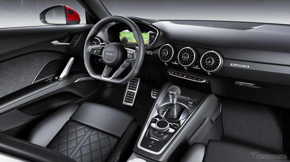 アウディ TT クーペ 改良新型