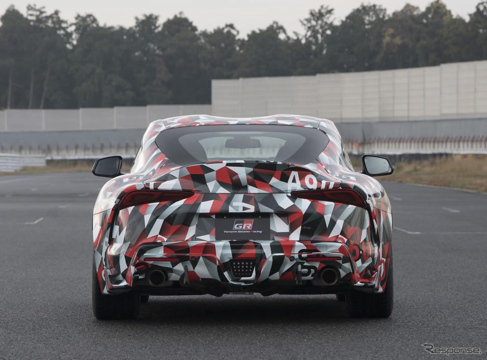トヨタ スープラ プロトタイプ《画像 トヨタ自動車》