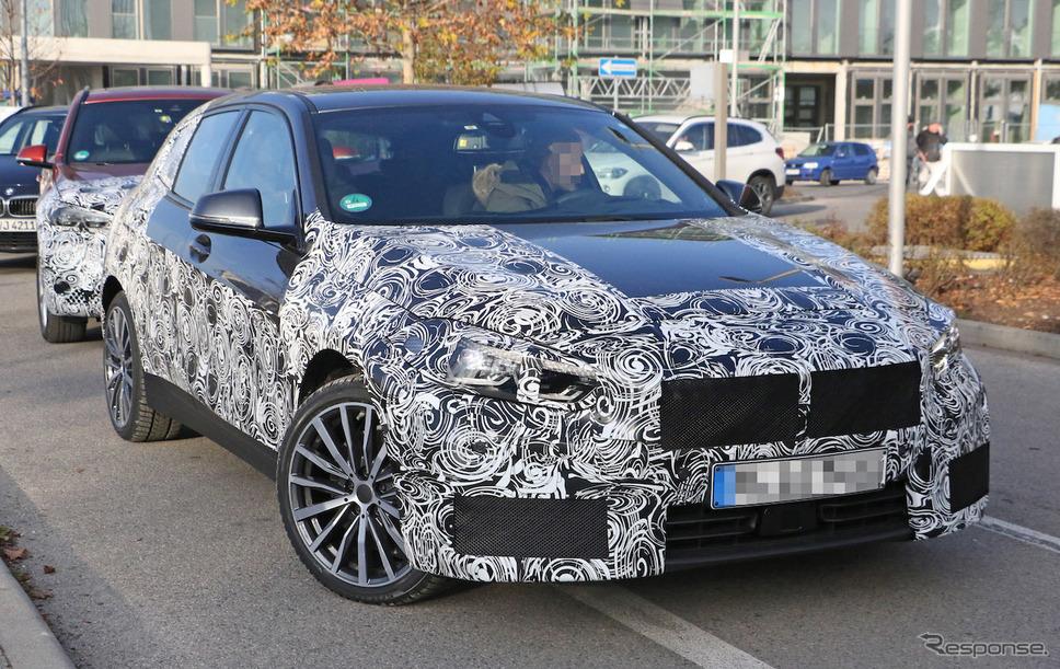 BMW 1シリーズ 次期型 スクープ写真《APOLLO NEWS SERVICE》