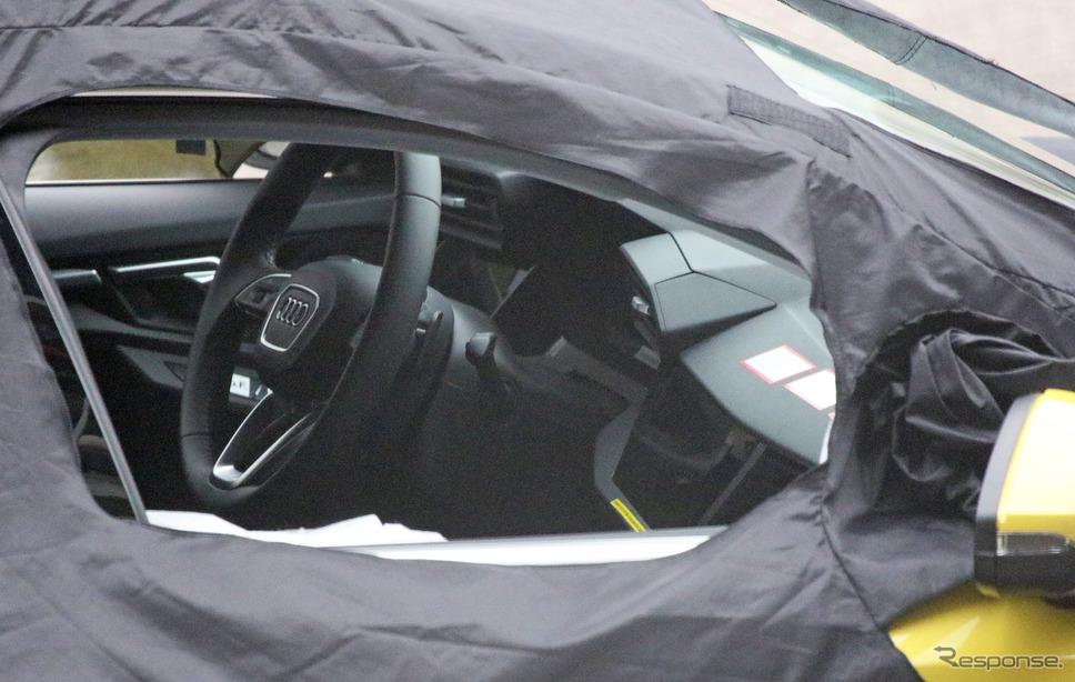 アウディ S3スポーツバック 次期型スクープ写真 《APOLLO NEWS SERVICE》