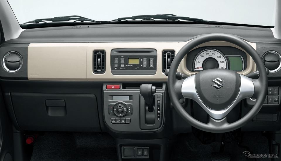 スズキ アルト X 4WD車 インパネ
