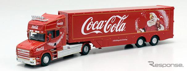 OXFORD 1/76scale Coca Cola T Cab Box Trailer