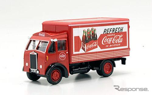 OXFORD 1/76scale Albion Box van Coca-Cola